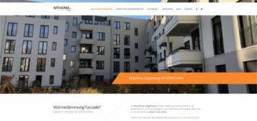 Website MTHERM - Malerbetrieb Magdeburg