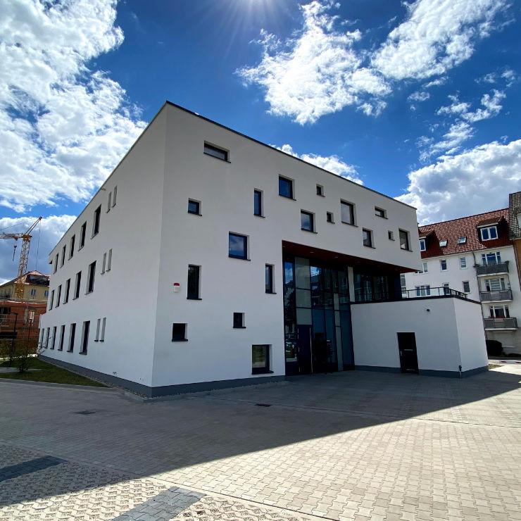Fassadendämmung Magdeburg Gewerbeobjekt