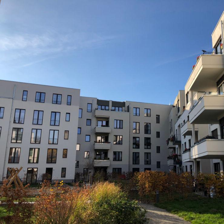 Vollwärmeschutz Sachsen-Anhalt Neubau Wohnanlage